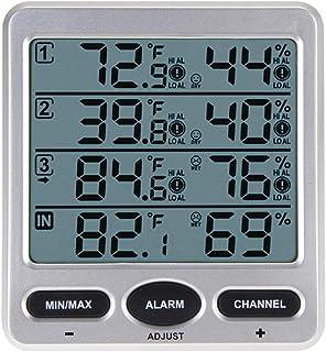 ECSWP WDJZNH Thermomètre Numérique Numérique À Écran LCD sans Fil Thermomètre Numérique Intérieur/Extérieur