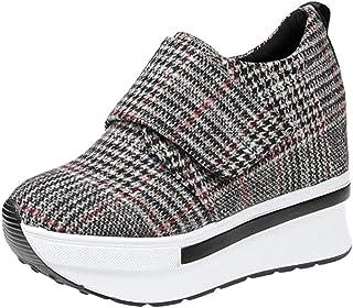 JOJONUNU Women Wedge Heel Pumps Shoes