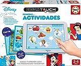 Educa Borrás- Educa Touch Primeras Actividades, Juega y aprende con Personajes Disney, Multicolor (17919)