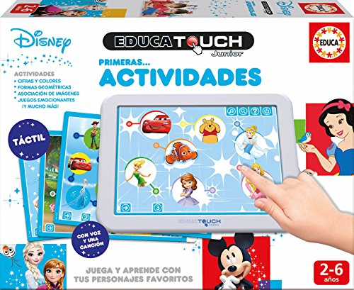 Educa - Touch Disney, Primeras Actividades, Juega y aprende
