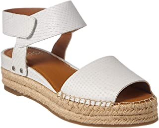 Franco Sarto Women's Oak Sandal, Blanca Leather, 9 M White
