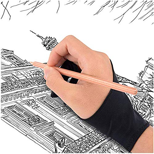 Bainuojia Digital Artist Drawing Glove for Graphics Tablet- 2 Woman Gloves by Stargoods