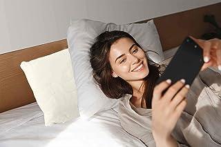 eccovital Almohada rígida, perfecta almohada de apoyo para cuello y cuerpo en la cama mientras duermes, ves la televisión y lees. Almohada de apoyo firme para el cuello, alternativa