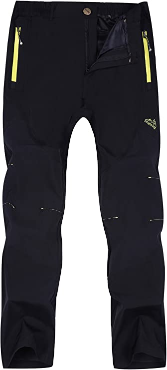 Singbring Outdoor Lightweight Waterproof Hiking Mountain Pants
