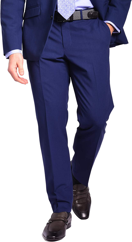 Craft & Soul Men's Slim Fit Stretch Suit Separates Pant
