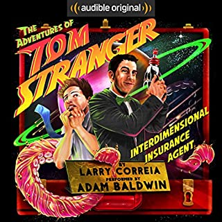 The Adventures of Tom Stranger, Interdimensional Insurance Agent cover art