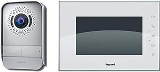 Videoportero Legrand con dos hilos de conexión monitor a color y cámara con gran angular 369230