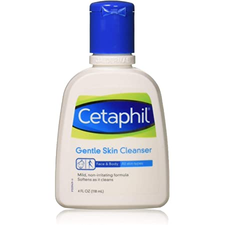 Cetaphil Gentle Skin Cleanser for All Skin Types 4 oz (Pack of 2)