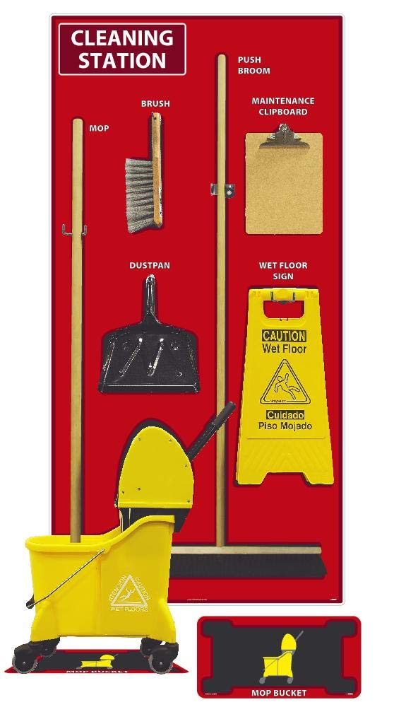 NMC SBK144ACP Cleaning Station National products Shadow Combo Kit Blac Brand new Board Red