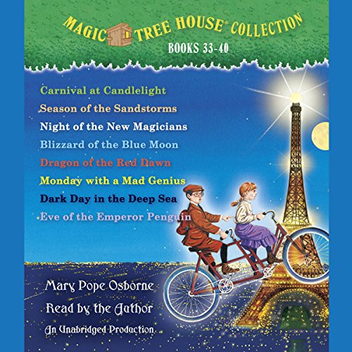 Magic Tree House (R) Merlin Mission Collection: Books 33-40 Titelbild