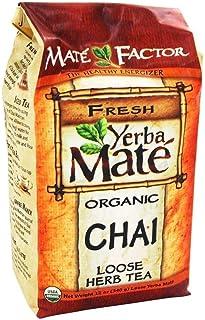 Mate Factor Herb Tea, Organic, Chai, Loose