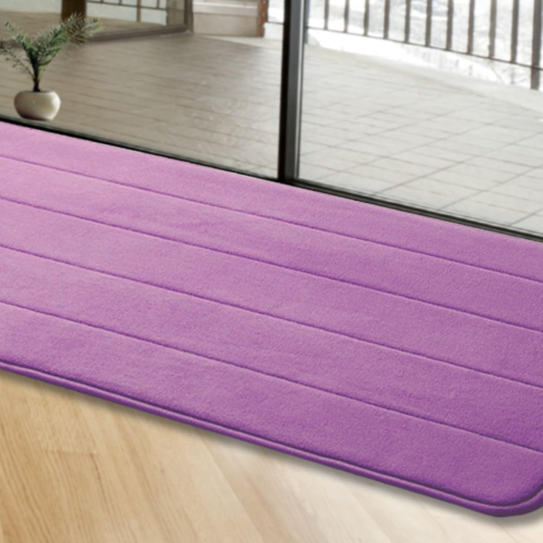 Kitchen oil absorption strip mats bathroom living room door mats water absorption non-slip mat-H 50x160cm(20x63inch)