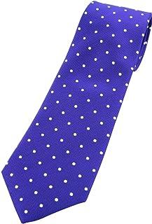 全14色 定番 ドットネクタイ シルク100% レップ織 ネクタイ 日本製 おしゃれ David2 jg14091