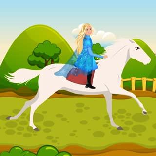 barbie horse riding games