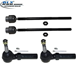 DLZ 4 Pcs Front Suspension Kit-2 Inner 2 Outer Tie Rod End Compatible with 2000-2013 Chevrolet Impala 2014-2015 Chevrolet Impala Limited 2000-2007 Chevrolet Monte Carlo 1998-2002 Oldsmobile Intrigue