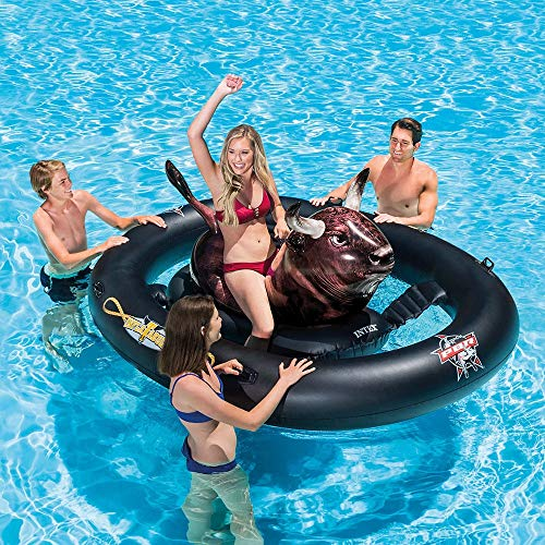 YCRCTC Iche Pool Beach Lake Inflatabull Rodeo Bull Aufsitz-Float