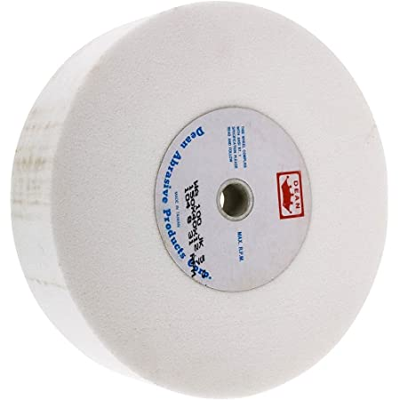 """Shop Fox D4601 Type 5 A120 Grinding Wheel with 1/2"""" Bore, 6"""" x 1-1/2"""""""