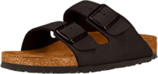 Birkenstock Unisex Arizona Taupe Suede Sandals - 13-13.5 B(M) US Men