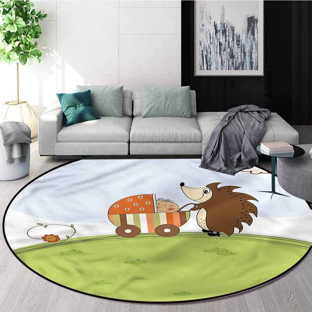 Max 60% OFF RUGSMAT Funny Super Soft Circle Rugs Girls Shower H for and Baby Quantity limited