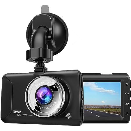 ドライブレコーダー【2019年最新版】chortau 3.0インチ 1080P FULL HD F2.0 170度広角 SONYセンサー/レンズ 常時録画 駐車監視 G-sensor WDR 2年保証