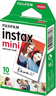 Fujifilm Instax Mini 10 Sheets White Film Photo Paper for Instax Mini 7s/8/25/90/9