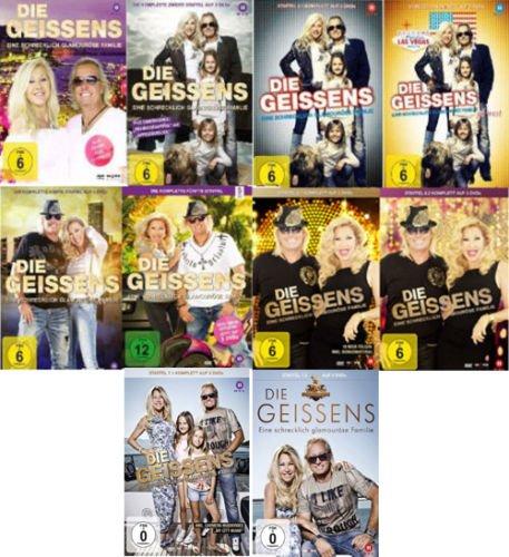 Die Geissens - Eine schrecklich glamouröse Familie: Staffeln 1-7 (28 DVDs)