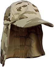 Brown Desert Camo Foreign Legion Fishing Sun Flap Hat