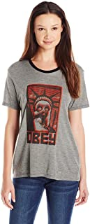 OBEY Women's Lady Liberty Graphic Tee
