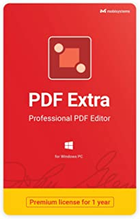 PDF Extra - Professional PDF Editor – Edit, Protect, Annotate, Fill and Sign PDFs - 1 PC/ 1 User / 1year Subscription