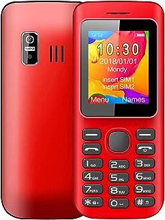LSGG ATBC H1A Mobile Phone, 1.8 inch, 1200mAh Battery, 21 Keys, Support Bluetooth, FM, MP3 Player, GSM, Dual SIM(Blue) (Co...