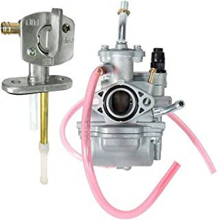 TTR 90 Carburetor for Yamaha TTR90 TTR90E TTR 90 Replace 5HN-14101-00-00 5HN-14101-10-00 with Fuel Switch Valve Petcock by TOPEMAI