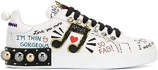 DOLCE E GABBANA Luxury Fashion Womens CK1562AH0768S534 White Sneakers | Fall Winter 19