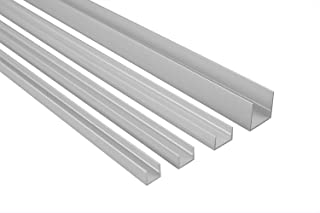 Profile Pressblank für 4 mm Platten Länge 9,99€//m Aluminium Eck 1000 mm