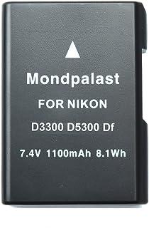 Mondpalast  EN-EL14 ENEL14 1100 mah Batería para Nikon Coolpix P7000 P7100 P7700 P7800 DSLR D3100 D3200 D5100 D5200 D5300 Nikon DF