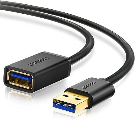 UGREEN USB 延長 1M USB3.0 延長ケーブル 金メッキコネクタ 高速データ転送 aオス-aメス USBケーブル 延長コード 18ヶ月保証