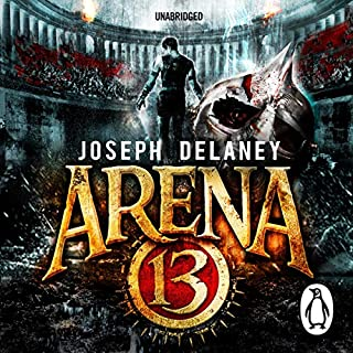 Arena 13 audiobook cover art