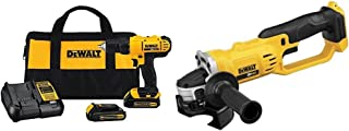 Dewalt DCD771C2 20V MAX Cordless Lithium-Ion 1/2 inch Compact Drill Driver Kit and..