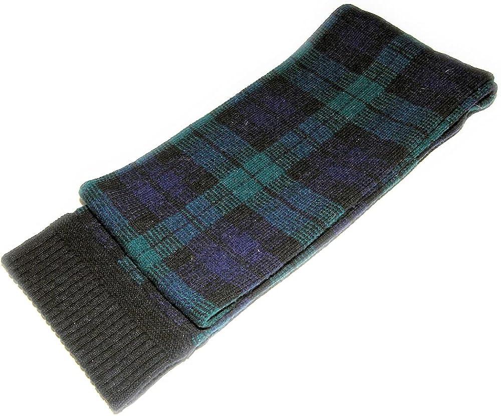 Polo Ralph Lauren Rugby Mens Womens Wool Navy Green Plaid Tartan Long Neck Scarf
