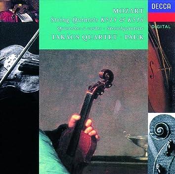 Mozart: String Quintet Nos. 2 & 3, K.515 & K.516