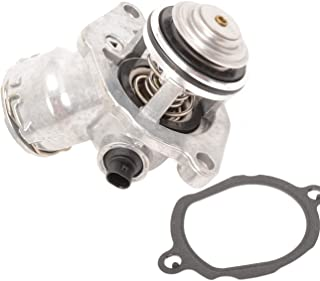 TOPAZ 2722000115 Engine Coolant Thermostat Assembly with Sensor for Mercedes C300 C350 E350 ML350 SLK350