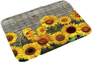 Zippem New Home Bedroom Doormat Floor Soft Non-slip Sunflower Mat Rug Carpets Puzzle Play Mats