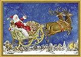 Nostalgischer Weihnachtsschlitten (Adventskalender)