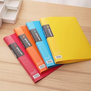 deli Display Book Anti-static Pocket for Easy Paper Insertion, E5033 - Assorted Color