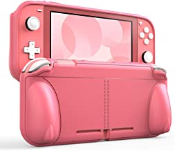Protective Case for Nintendo Switch Lite [All New 2020],TPU Grip Cover with Shockproof and Anti-Scratch Holder Stand Kit,A...