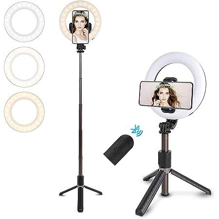 Led Ringlicht Mit Stativ Ständer Für Live Streaming Kamera