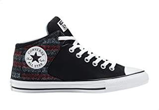 Converse Chuck Taylor All Star Wordmark Print Canvas Lace-up Sneakers for Men
