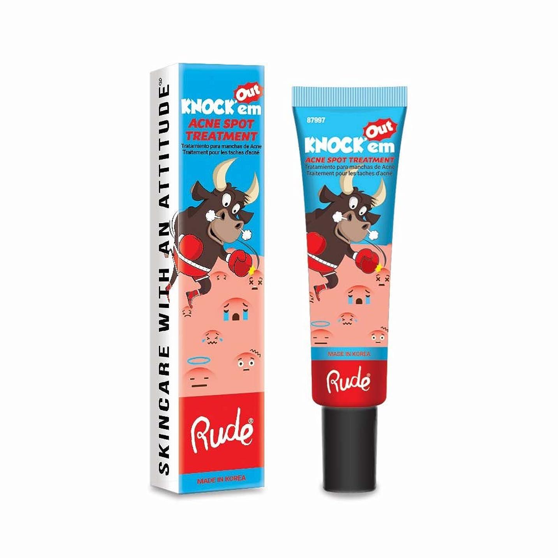寛解虫成長(3 Pack) RUDE Knock'em Acne Spot Treatment (並行輸入品)