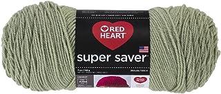 RED HEART Super Saver Yarn, Frosty Green
