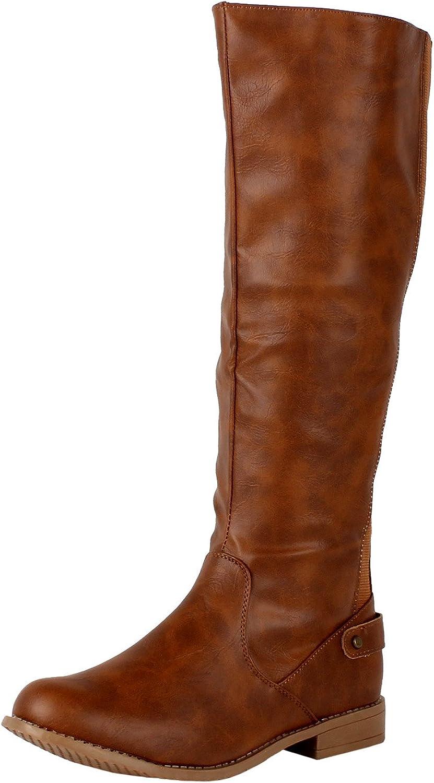 West Blvd Santiago Stretch Knee High Boots