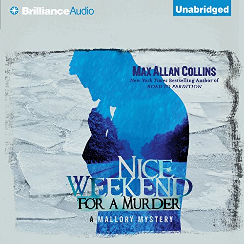 Nice Weekend for a Murder audiobook cover art